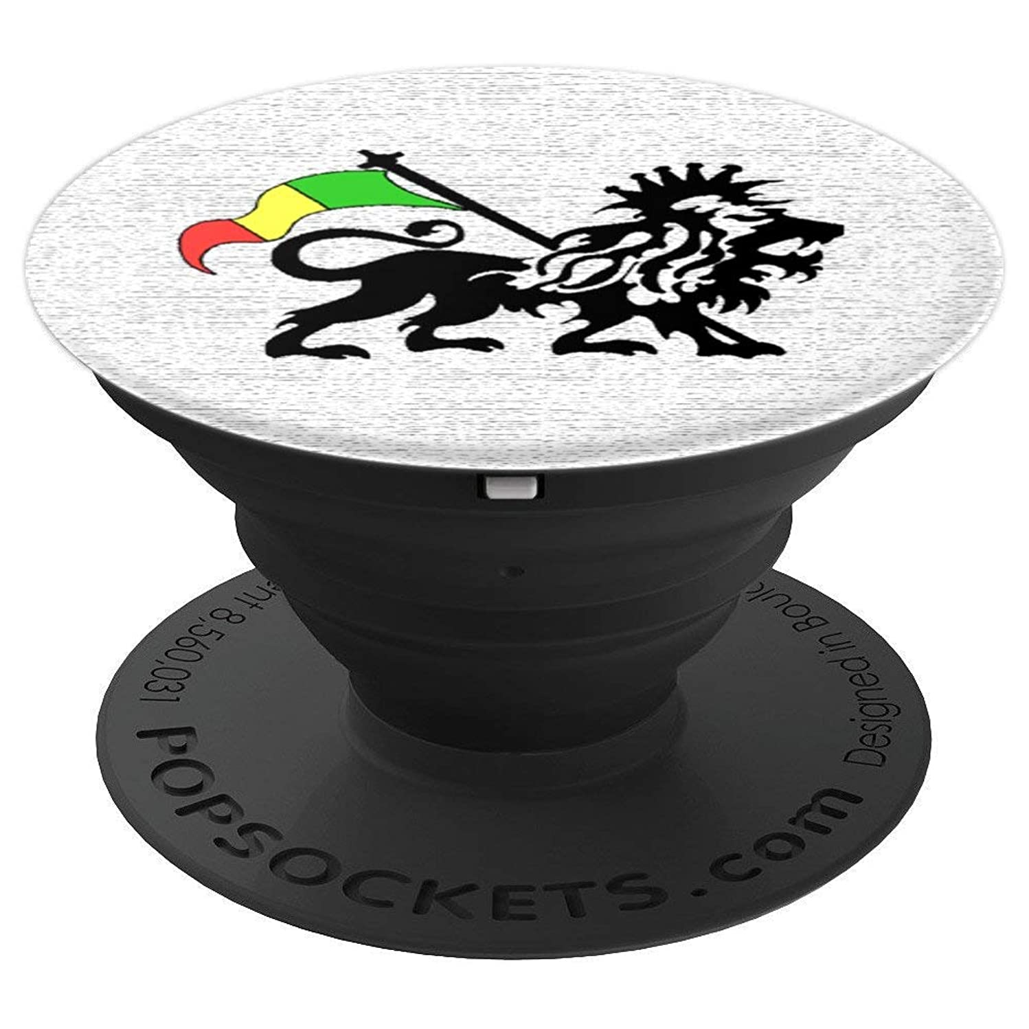 Rasta Lion of Judah - PopSockets Grip and Stand for Phones and Tablets