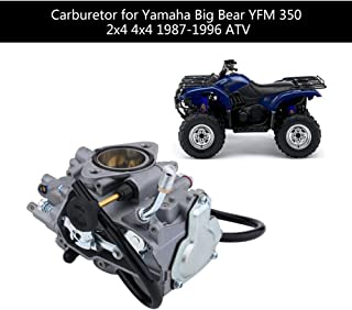 Carburetor Carb Fit High Efficiency ATV Carburetor Carb for Yamaha Big Bear YFM 350 2x4 4x4 1987-1996