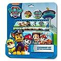 PAW PATROL- Blíster de 5 Piezas con Estuche, Unica (Kids Euroswan PW16005) de Kids Euroswan