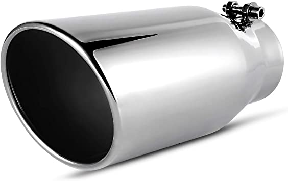 All Ride Universal Aluminium Trim Muffler Tips Exhaust Ornament