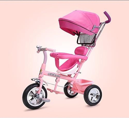 Kinder Dreirad, Baby Trolley, 1-3-5 Jahre alt Baby Fahrrad Fahrrad