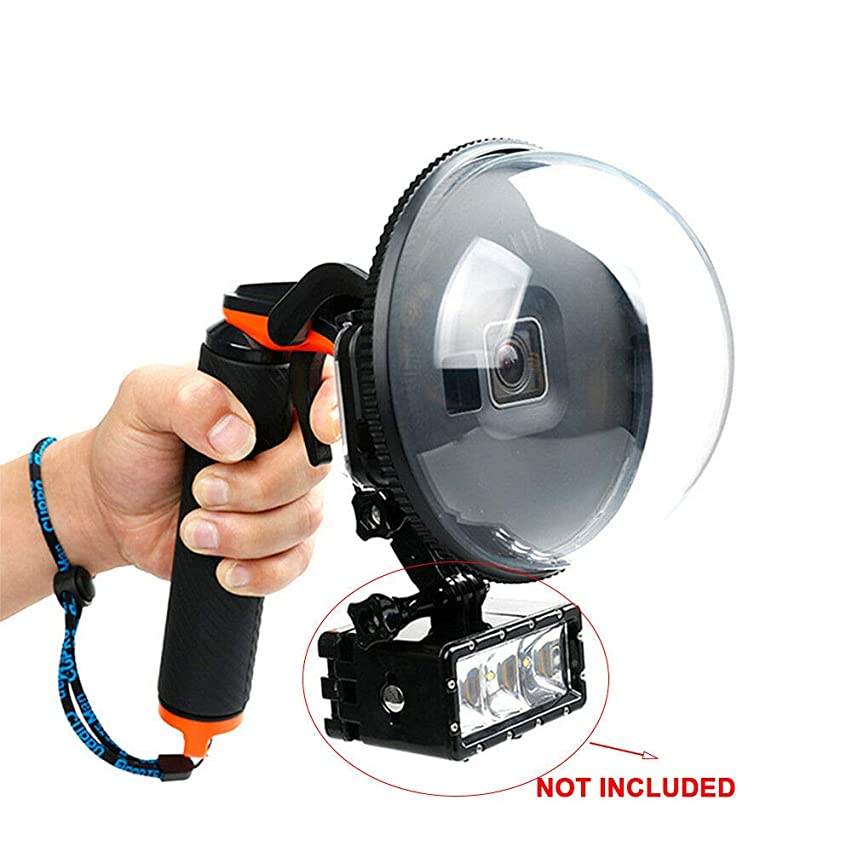 BSTOOL Diving Dome Port Camera Lens Cover for GoPro Hero 7 Black, Hero 6 Hero 5 Black, with Waterproof Housing Case, Underwater Diving Accessories