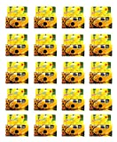 SunFlash Disposable Camera 35mm Film One Time Single Use D-10 Fresh 2020 (20-Pack)