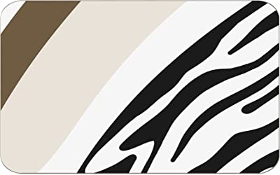 Bonamaison Alfombrillas de baño, Polyester, Multicolor, 100X60 Cm