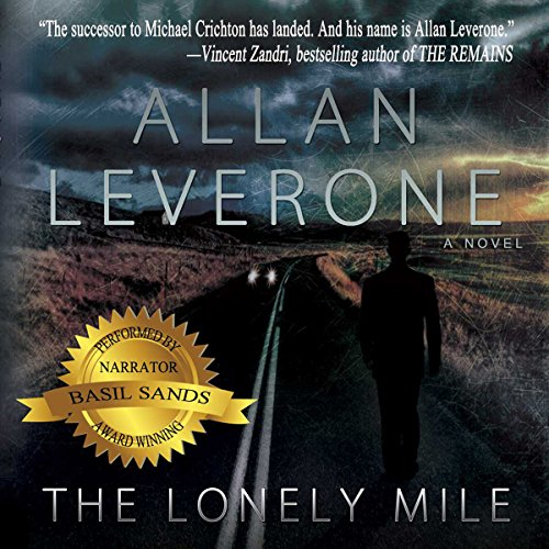 The Lonely Mile audiobook cover art