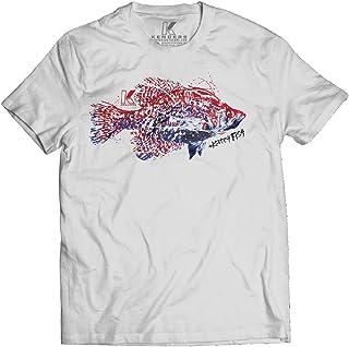 7a796376 White Crappie Fishing T-Shirt Kenders Species 2.0 Shirt Series Fishing Gift,  Fishing Gear