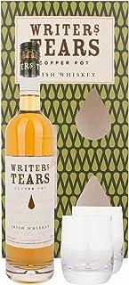 """Writer""""s Tears COPPER POT Irish Whiskey mit 2 Gläsern 40,00% 0,70 Liter"""