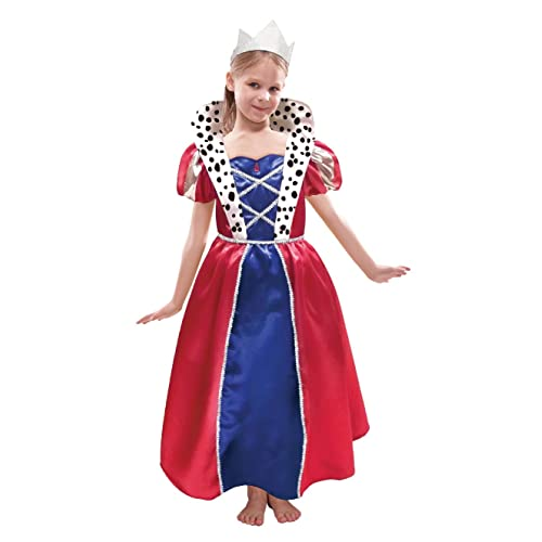 BD Pretty Playing Card Queen Costume Fancy Dress All Occasion Outfit  FREE POST