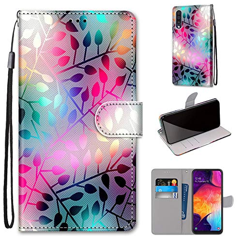 DICASI Custodia Samsung Galaxy A50, Cover a Libro Magnetica Portafoglio Samsung Galaxy A50, Custodia in Pelle con Supporto Flip Caso Cover per Samsung Galaxy A50/A50S/A30S