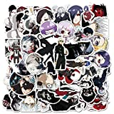 50Pcs Tokyo Ghoul Graffiti Japan Classic Anime Stickers for Laptop Luggage Car Skateboard Phone Decal Sticker Car Styling