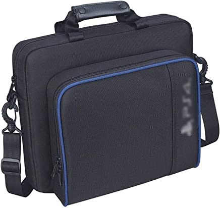 Docooler Portable Travel Carry Protective Shoulder Bags for PS4 Console Accessory Multifunctional Portable Travel Case Messenger Bag