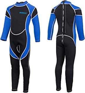 2bf0eb4584 Kids Wetsuit Neoprene 2.5mm Thick Long Sleeve One Piece UV Protection Sun  Protection Sunsuit Wetsuit