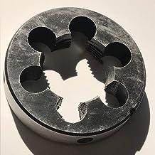 LF&LQEW 1PC 9SiCr Acero Hecho Métricas Manual Die M27 * 1.0/1.5/2.0/3.0 mm for ser Usado con Die Llave Manual Threading de Metal (Color : 1.5, tamaño : M27)