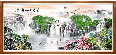 Chinese style Cross stitch horse C0105
