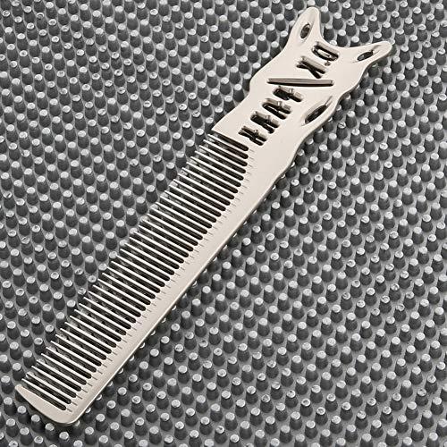 Sxgyubt Peigne en aluminium pour homme taille unique Argenté mat