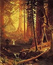 Giant Redwood Trees of California by Albert Bierstadt - 20