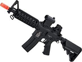 Evike Colt Licensed M4 CQB-R Carbine Full Metal Airsoft AEG Rifle by Cybergun/CYMA (Package: Add 9.6v NiMH Battery + Charger)