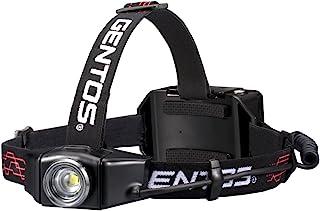 GENTOS(ジェントス) LED ヘッドライト Gシリーズ USB充電式 【明るさ300-1100ルーメン/実用点灯6-12時間】 ANSI規格準拠
