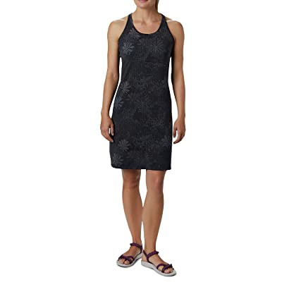 Columbia Peak To Pointtm Knit Dress (Black Got Florals) Women