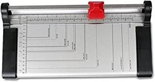 """Ofoice A4 Rotary Paper Trimmer, Photo Trimmer 12""""Cutting Length Paper Cutter 8 Sheet Capacity (Medium)"""