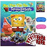 Pin The Tie On Spongebob Game for Theme Birthday Party Supplies Decorations (48Ties)