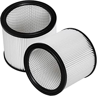 HIFROM Replacement Cartridge Filter fits for Shop-Vac 90304 9030400 903-04-00 903-04 Replacement Vacuum Cleaner Filter (2 Pcs)