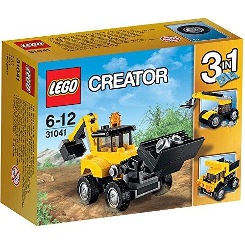 LEGO Creator Veicoli da Cantiere, 31041