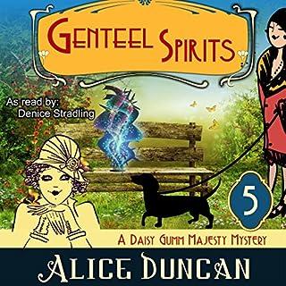 Genteel Spirits audiobook cover art