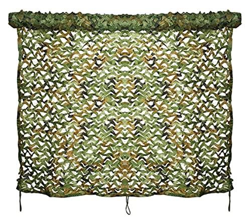 Lanrui 2 x 3 m - Rete mimetica militare, caccia, campeggio, esercito occultare Woodland Camo, Hunting Shooting Hide occultare giardino militare decorazione tenda mimetico