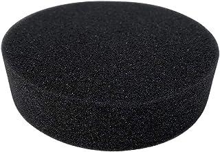 キッチン スポンジ 丸型 シンク 掃除 食器洗いスポンジ カラー (ブラック)