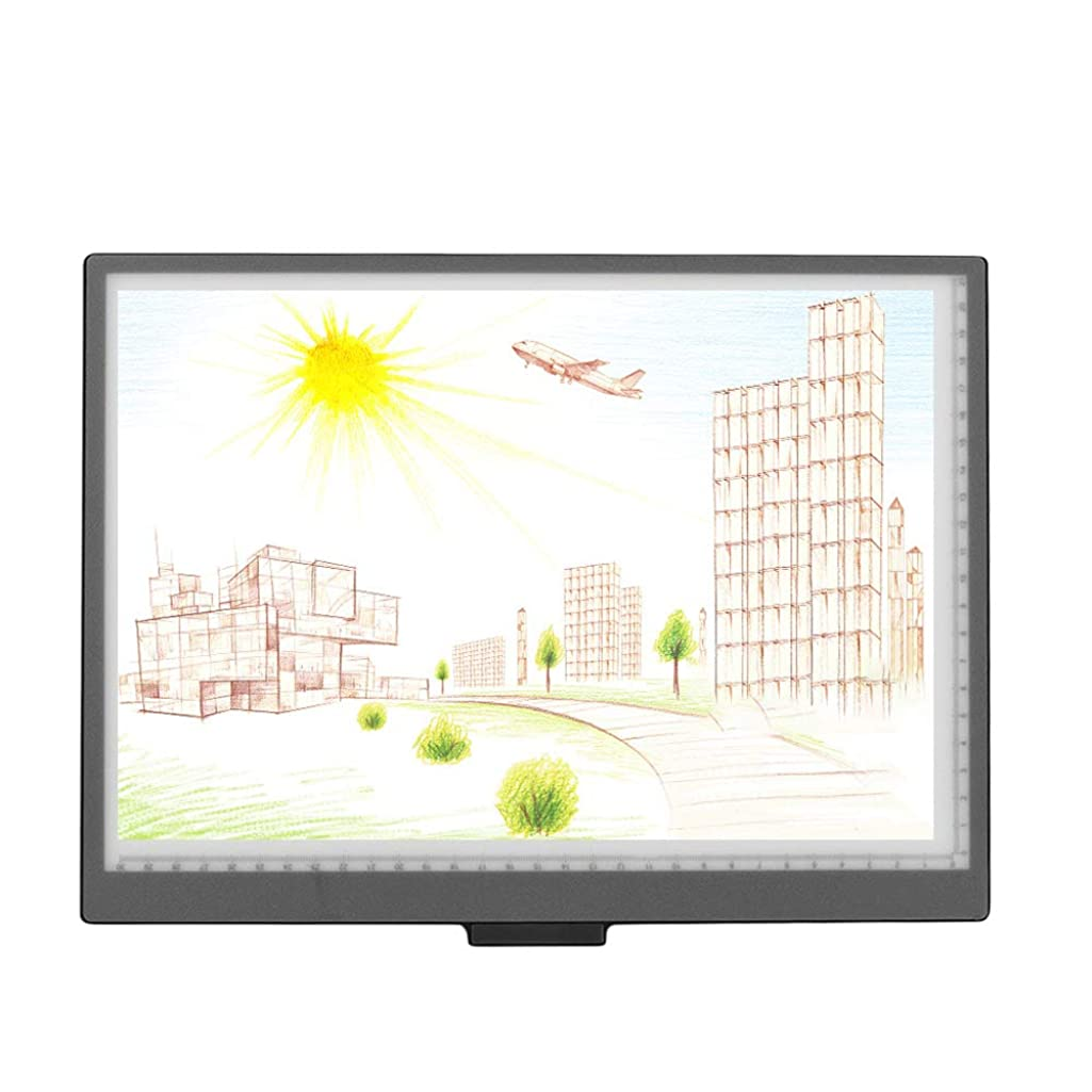 Aibecy A4 Light Box LED Artcraft Tracing Light Box Copyboard 10 Level Adjustable Brightness Stepless Dimming Eye-Protecting Pad USB Powered for Tatoo Diamond Painting Drawing Sketching Animation
