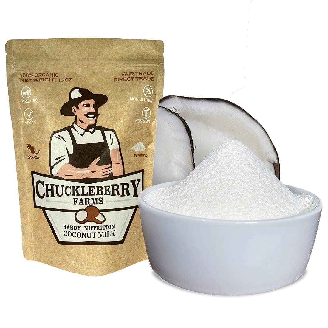 Chuckleberry Farms Organic Coconut Milk – New product!! All San Jose Mall Powder Natur