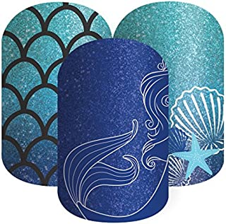 Jamberry Nail Wrap Disney Collection By Jamberry Sapphire Sea Half Sheet