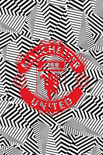 "Notebook: Manchester United 2020/21 Jersey - Journal to write in for Manchester United fans: Journal for Writing, Blank Pages, College Ruled Size 6"" x 9"", 110 Pages"