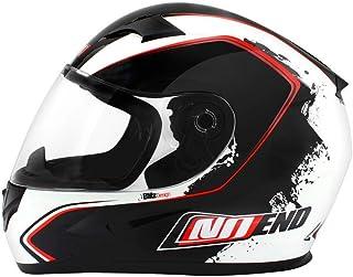 Preisvergleich für Helm 'NO END' Motorradhelm Integralhelm - Rot - L preisvergleich