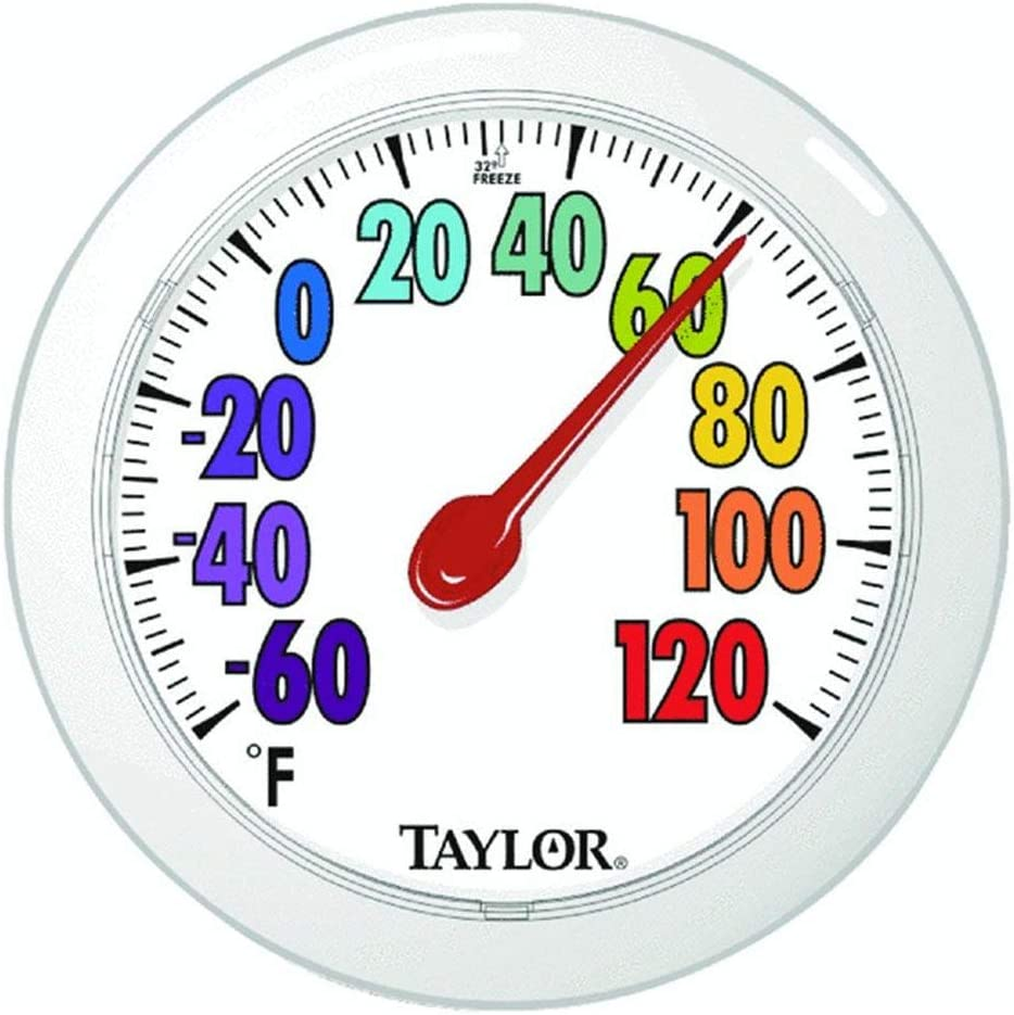 Blue Taylor Precision Products FBA/_92331M Outdoor Thermometer
