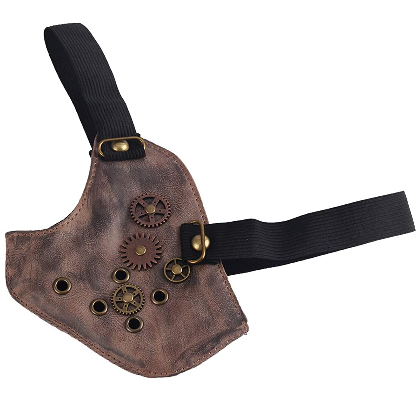 チキン祝福するデッドロックD DOLITY 仮装マスク コスプレマスク ギアマスク 小道具 ファッション 褐色