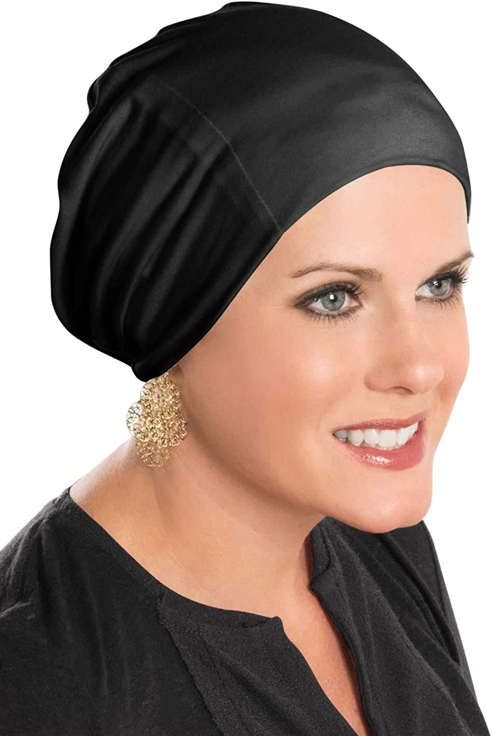 Cardani Cozy Cap Slouch Hat   Slouchy Cancer Beanie Hats