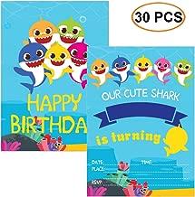 baby shark party invitations