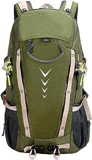 Mochila deportiva impermeable y transpirable para hombre, 40 l, para viajes, senderismo, camping, bicicleta, 34 x 53 x 22 cm.