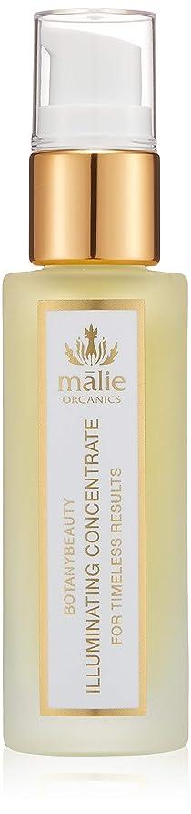 衝突コース手のひら遠えMalie Organics(マリエオーガニクス) ボタニービューティ イルミネーティング コンセントレ-ト 30ml