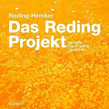 """Das Reding-Projekt"" - Vertonte Paul Reding-Gedichte"