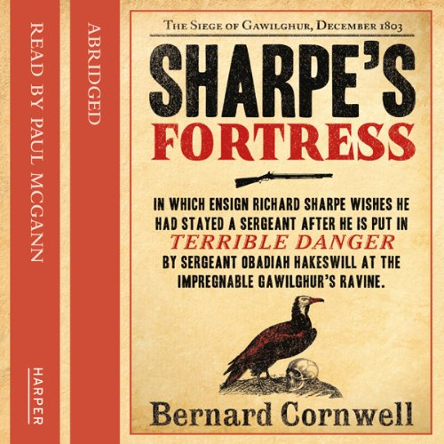 Sharpe's Fortress audiobook cover art