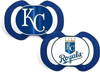 Baby Fanatic Pacifier Set, MLB Kansas City Royals