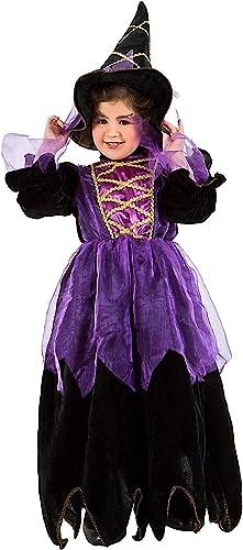 auténtico Disfraz Bruja DE LA LA LA Noche DE Baby Vestido Fiesta de Carnaval Fancy Dress Disfraces Halloween Cosplay Veneziano Party 1124  ahorra hasta un 50%