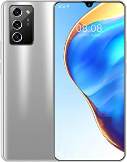 7.1inch Unlocked Smartphones, Note 60 Android 10.0 Cell Phone Cheap, Dual SIM Free Phones, 2GB+16GB (Rose gold/Black/Blue/...