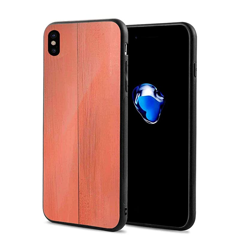 Phone Case Cover Compatible with iPhone X XS,Vintage Wood Board Plank Texture Image Aged Barn Door Lumber Grunge Natural Surface,Compatible with iPhone X/XS 5.8