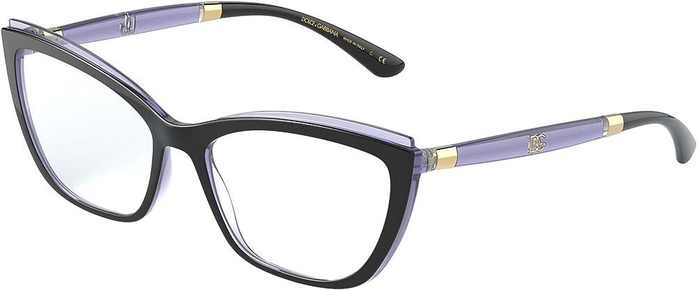 Dolce & gabbana montatura per occhiali da vista da donna DOUBLE LINE DG 5054