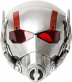 Ant-Man 2 Adult Mask for Cosplay Costume,Resin Helmet Wasp Basic Mask White