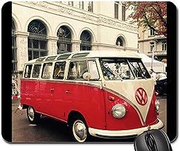 SHAQ Vw Bus Oldtimer Volkswagen Camping Bus Camper 3 Mouse pad 8.7